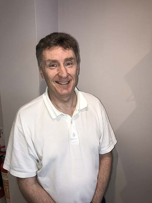 Steve Hardman MCSP (Senior Physiotherapist)